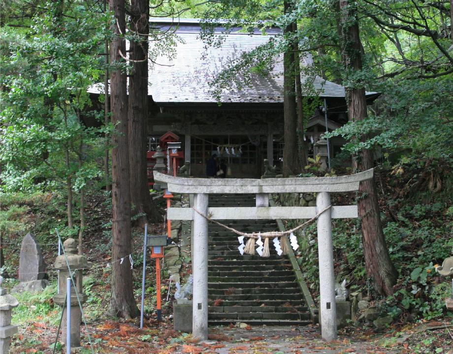 白瀑&白瀑神社